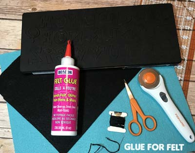Best Glue For Felt