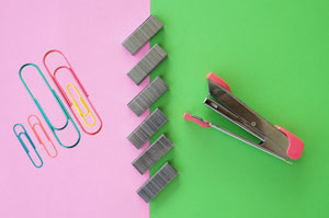 Clips & Staplers, Pins