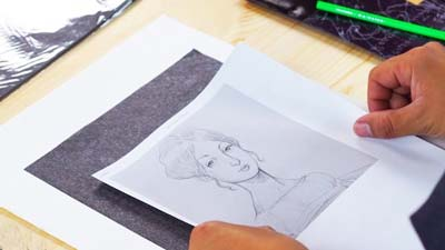 How to Use Graphite Paper