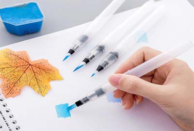 How to Use Watercolor Brush Pens