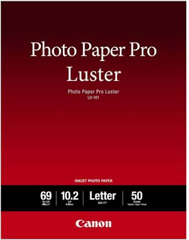 Canon Luster Photo Paper Letter