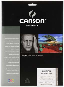 Canson Infinity Edition Etching Rag Fine Art Paper