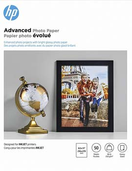 HP Glossy Advanced Photo Paper for Inkjet