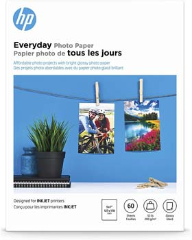 HP Photo Paper, Everyday Glossy