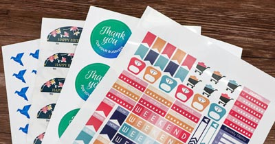 Tips For Printing Great Stickers From Home