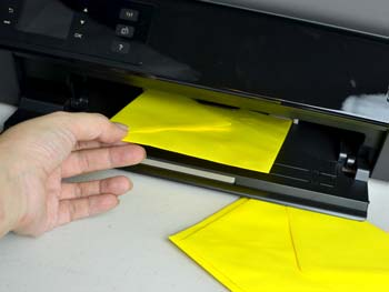Place the Envelope in the Printer