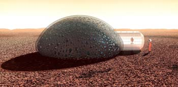 3D Printing Could history to Help Colonize Mars