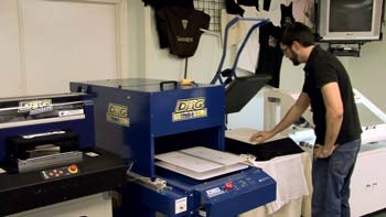 What Is DTG Printing Technology