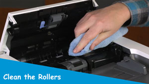 Clean the Rollers