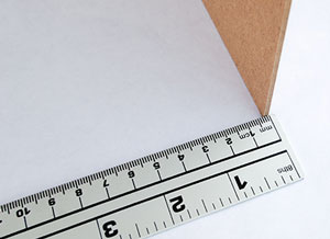 Measuring Paper Thickness with a Ruler