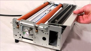 Putting the Pouch Inside the Laminator